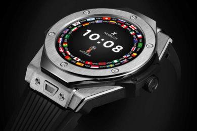 hublot chytre hodinky wear os