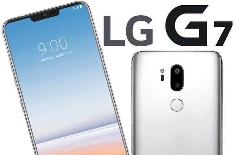 telefon lg g7 design