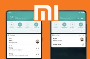 Xiaomi začíná s aktualizací na MIUI 9.5. Přináší několik novinek
