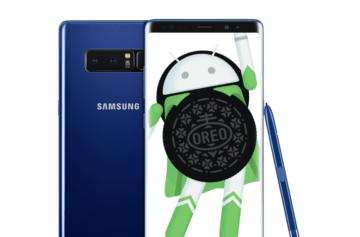 Samsung Galaxy Note8 se konečně dočkal aktualizace na Android 8 Oreo