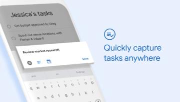 Úkoly Google aplikace