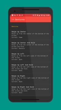 Aplikace 1+ Gestures