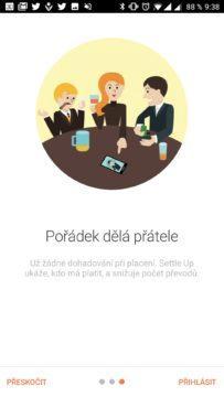 Aplikace Settle Up pomůže