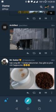 Fluce for Twitter app