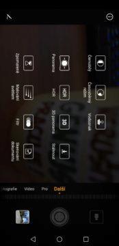Huawei P20 Pro aplikace fotoaparat (1)