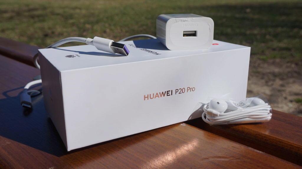 Huawei P20 Pro obsah baleni