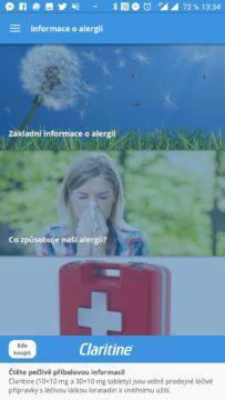 Informace o alergii - Pylové zpravodajství