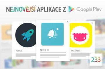 Nejnovější aplikace z Google Play #233: ovládněte notifikace