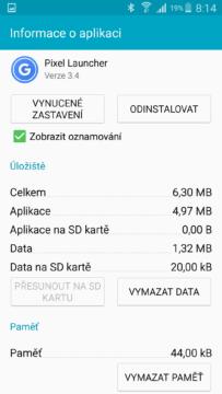 Pixel Launcher starsi telefony android go (4)