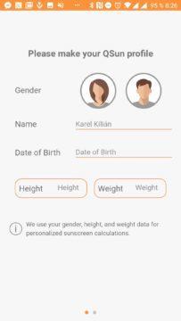 Pohlaví, výška, váha a narození