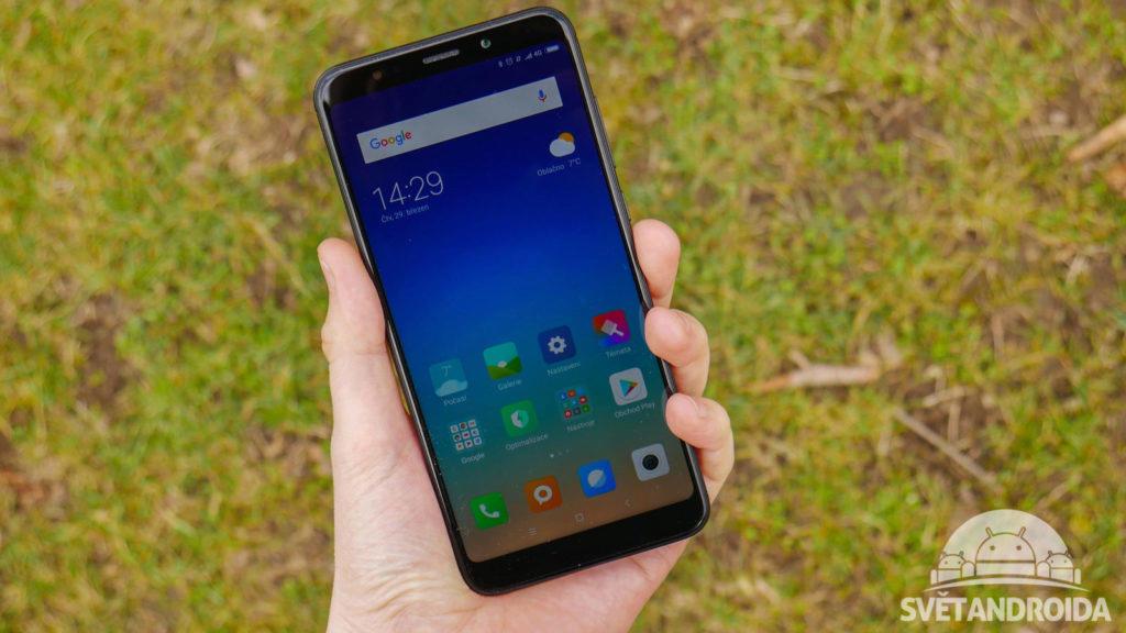 Xiaomi Redmi 5 Plus-recenze-displej