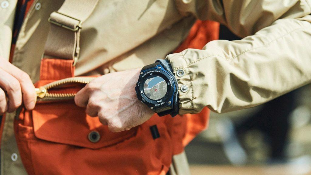 casio pro trek wsd-f20a hodinky android