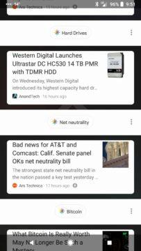 design google feed fail google now