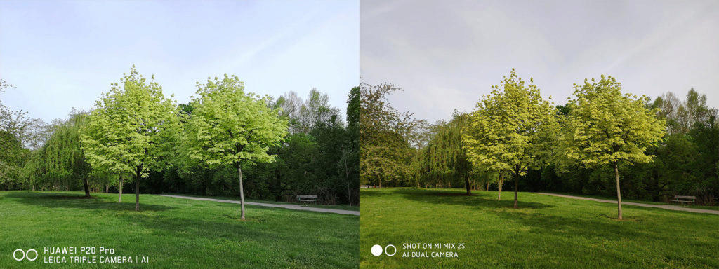 fototest priroda telefony xiaomi huawei