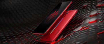 herni telefon android zte nubia red magic