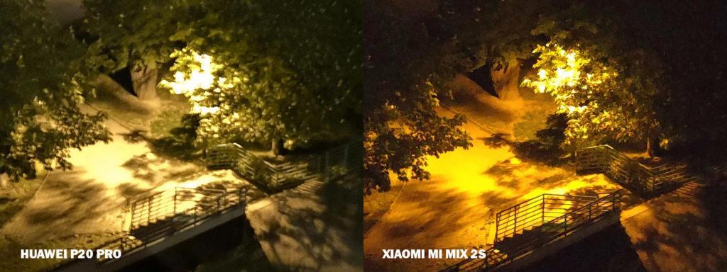 huawei P20 pro nocni ulice xiaomi