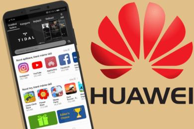 huawei obchod aplikace appgallery