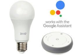 ikea tradfri brana chytre osvetleni IKEA asistent google
