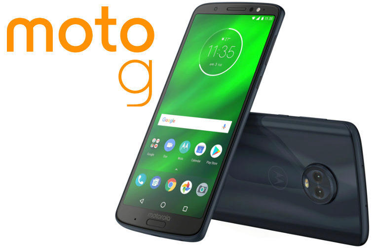 moto g6 predstaveni telefon