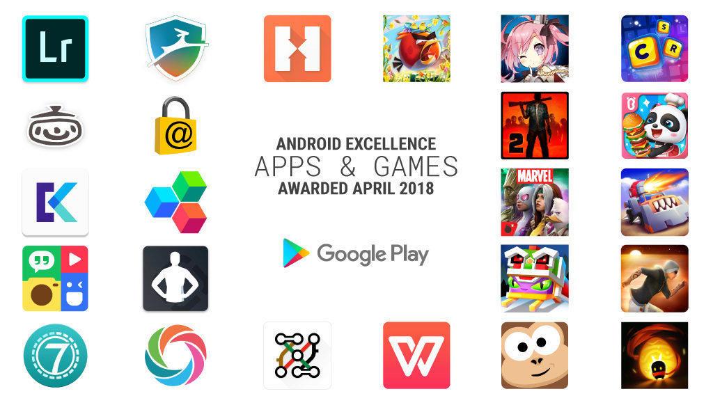 nejlepsi android aplikace hry 2018