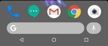 nova vyhledavaci lista pixel launcher