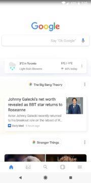 novy design google feed