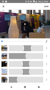novy video editor google fotky