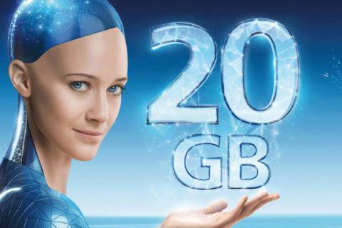 o2 tarify internet 20 gb O2 data