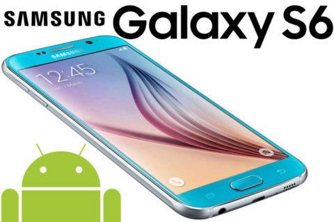 samsung galaxy S6 konci s podporou