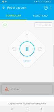 samsung smarthome aplikace vysavac