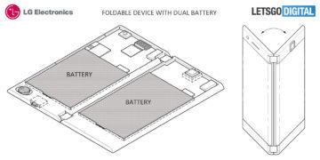 skladaci telefon baterie