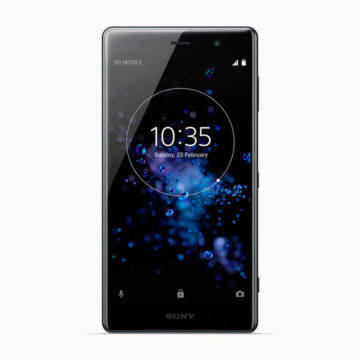 sony xperia xz2 4K displej