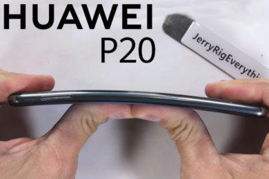 test odolnosti huawei p20 pro