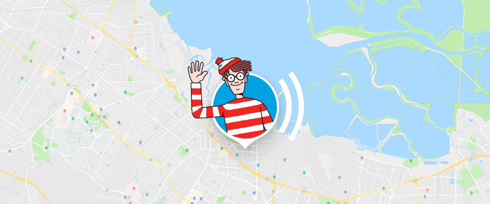 waldo google mapy april