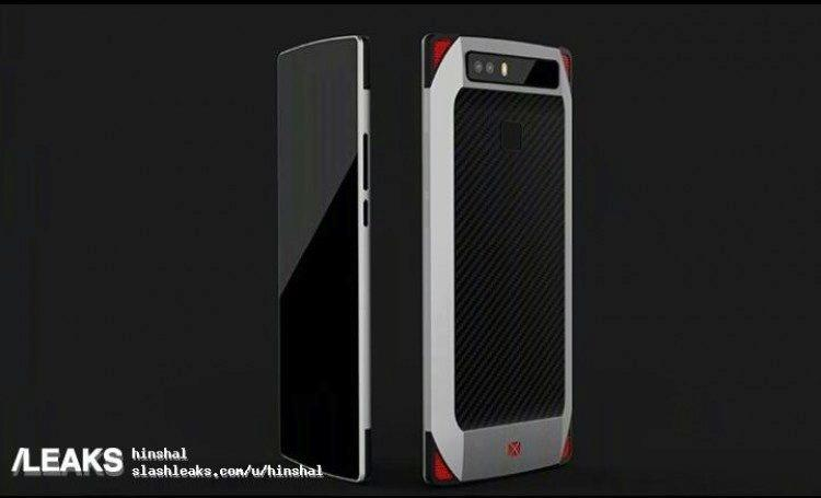 zte herni telefon prototyp