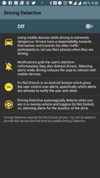 Úvodní obrazovka Driving Detective