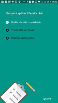 Čekají nás tři kroky Google Family Link