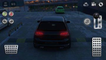 Budete jezdit VW Golfem Real Car Parking 2