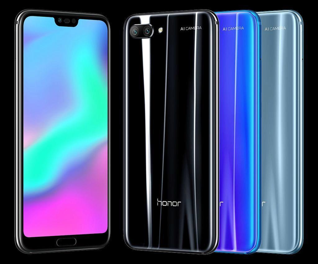 Honor 10 koupíte hned v několika barvách