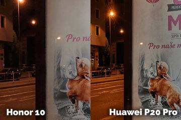 fototest Honor 10 vs Huawei P20 Pro noc detail