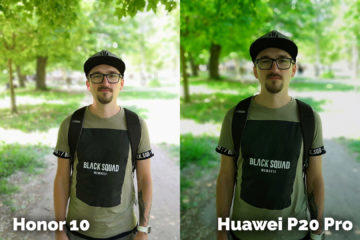 fototest Honor 10 vs Huawei P20 Pro portret