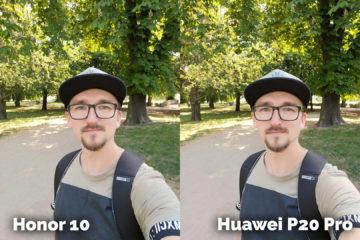 foto test Honor 10 vs Huawei P20 Pro selfie fotoaaparat