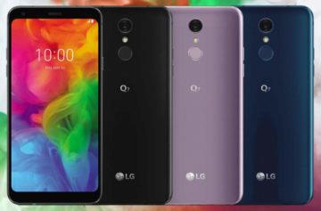 LG Q7 oficiálně: Střední třída, která připomíná vlajkové modely