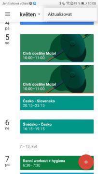 MS v hokeji 2018-Google kalendar Android-1