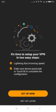 Nastavení oprávnění k VPN