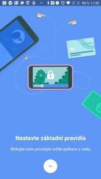 Google Family Link Nastavte základní pravidla