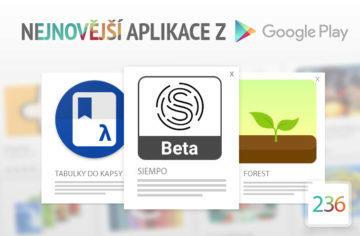 Nejnovější aplikace z Google Play #236: netradiční launcher