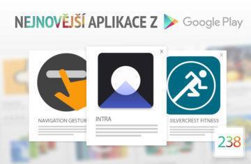 Nejnovější aplikace z Google Play #238: ovládejte telefon gesty
