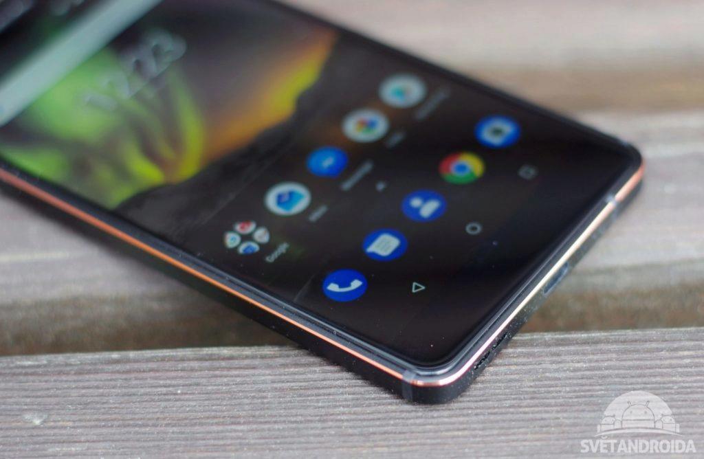 Nokia 6.1 rám
