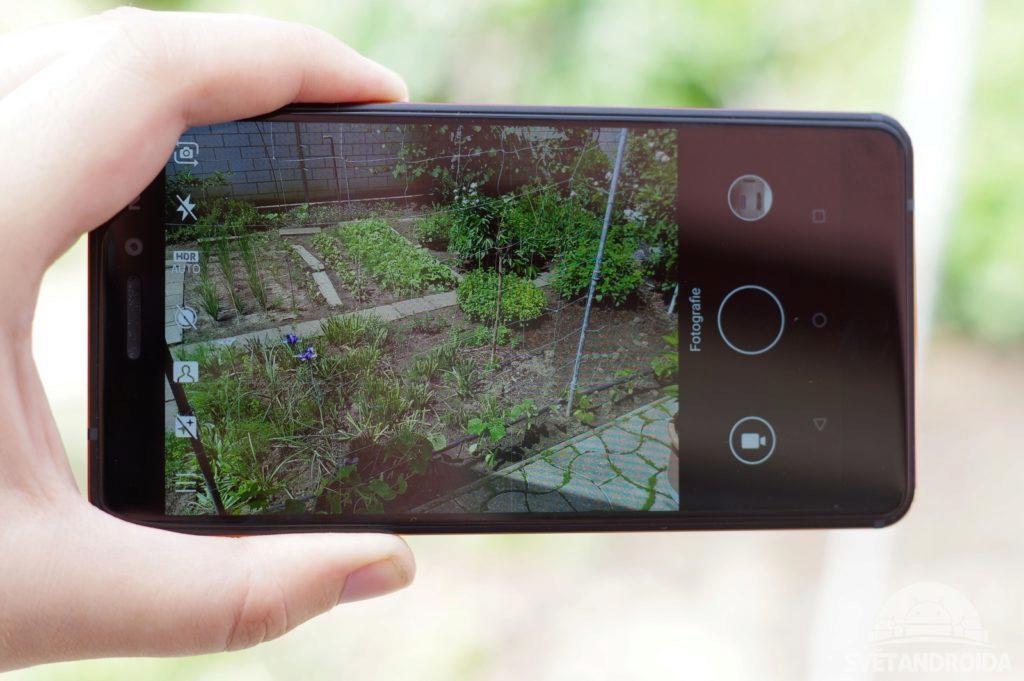 Nokia 6.1 fotografování